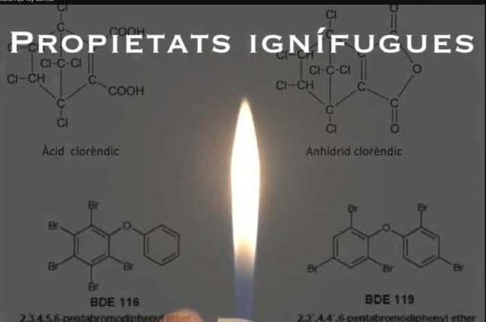 Vídeo del concurso Aquí Hay Química sobre las propiedades ignífugas