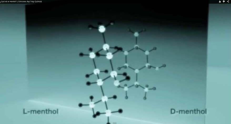 Vídeo del concurso Aquí Hay Química sobre el mentol